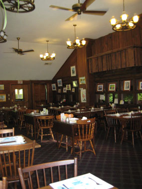 Large dining section